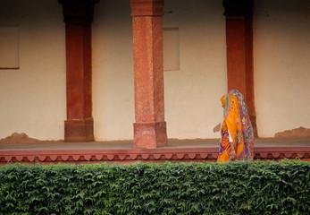 Fatehpur Sikri, colonnade detail