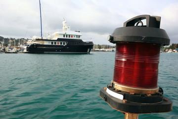 Red Port Light