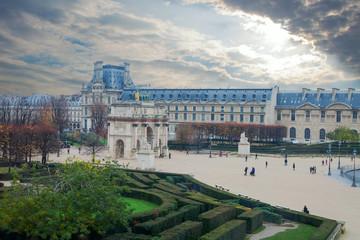Triumphal arch, Paris , France.