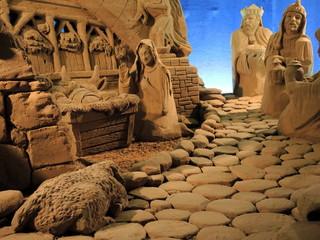 Presepio di sabbia