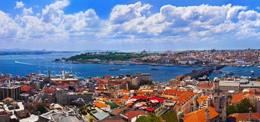 Istanbul Turkey panorama