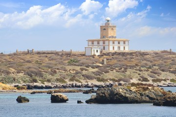 Tabarca island lighthouse