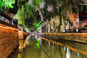 CN Suzhou Canal Light Lines