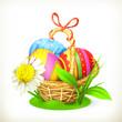 Easter, vector illustration
