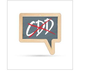 arrêt des CDD - contrat à durée déterminé