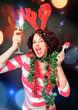 celebrating girl - Christmastime 03