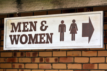 Men and Women toilets