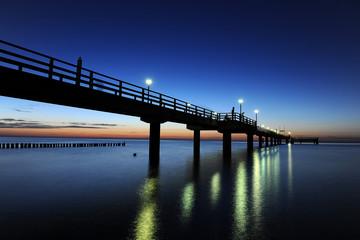 Seebrücke am Darß