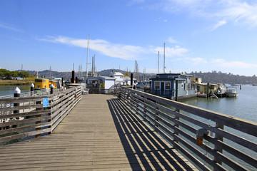 House Boats Harbor, Sausalito