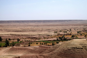 view from ksar Ait Benn Addou