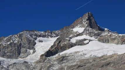 Zinalrothorn, high mountain in Zermatt