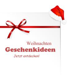 Karte Mütze Geschenkideen