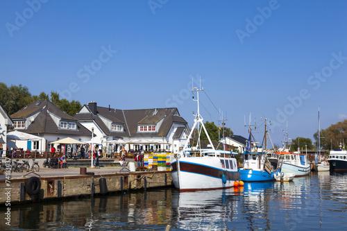 Tuinposter Poort Hafen von Vitte auf Hiddensee