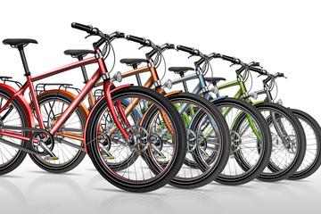 Fahrrad, Fahrräder, Fahradverleih, freigestellt