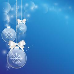 Поздравительная открытка, новогодний фон