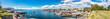 Leinwanddruck Bild - Oslo skyline and harbor. Norway