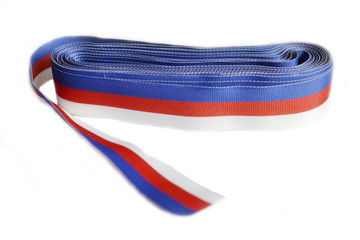 tricolor ribbons