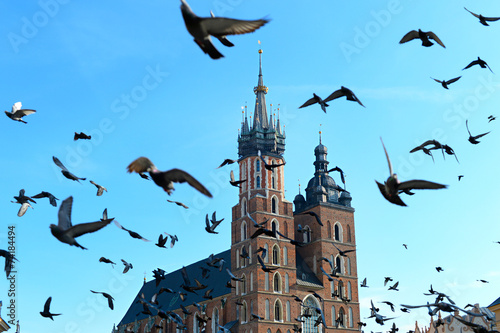 Krakow landmarks - 74184494