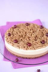 Chestnut Multi-Layered Mousse Cake