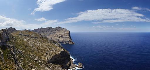 Küstenlinie, Cap de Formentor, Panorama