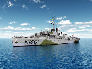 World War II ship of Canada