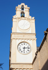 Clocktower in the center of the town of Gallipoli