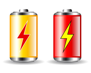 Battery energy icon