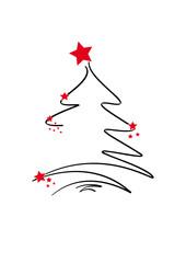 weihnachtsbaum - filigran