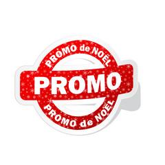 """Tampon """"PROMO DE NOEL"""" (joyeuses fêtes promos meilleurs voeux)"""
