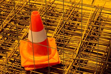 One Traffic cone