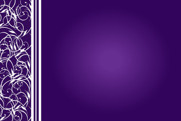 Purple and White Back Ground