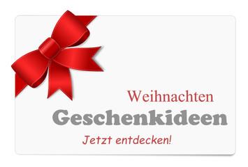Weihnachten Schild Geschenkideen