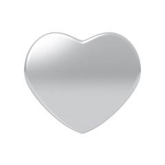 Glossy heart.