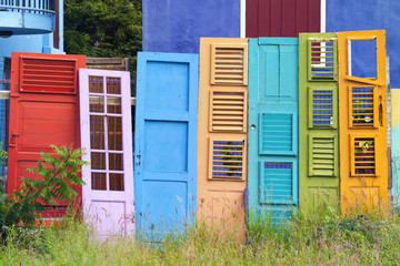 Colorful Old Doors Collection
