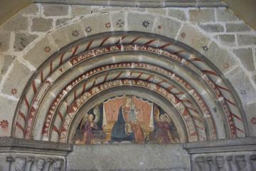 decorazioni chiesa di Elva