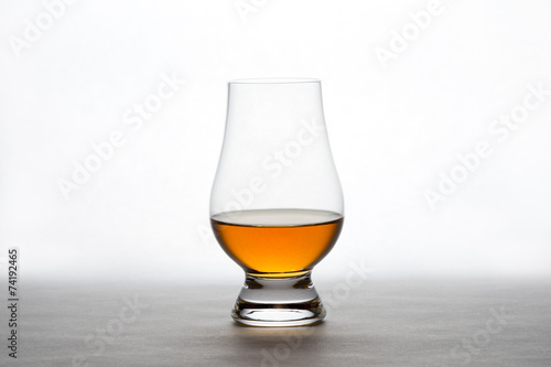 Fotobehang Bar Whiskey in a Crystal Tasting Glass