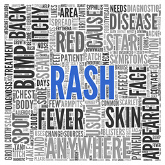 RASH Concept Word Tag Cloud Design