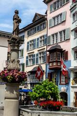 Schweiz, Zürich, Münzplatz