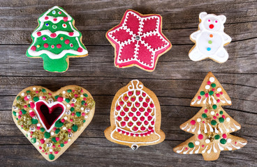 christmas gingerbread cookie