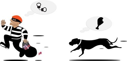 Dog and Thief
