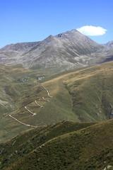 Plateau on Kackar Mountains in Turkey