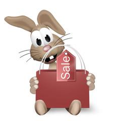 Easter Bunny Shopping Bag
