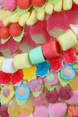 Fond en bonbons