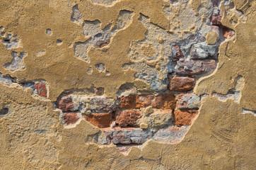 stucco brick wall