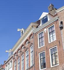 typical dutch facades