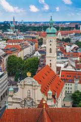 Church of holy spirit in Munich, Bavaria, Germany