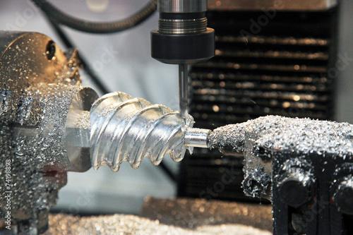 Lathe, CNC milling machine - 74198898
