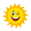 Sun with smile