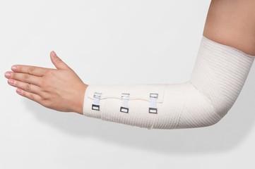 Elastic Bandage on forearm