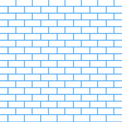 Brick wall background, vector illustration.